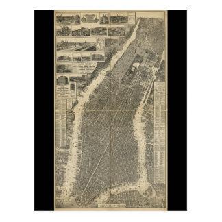 La ciudad de Nueva York cerca Taylor (1879) Postales
