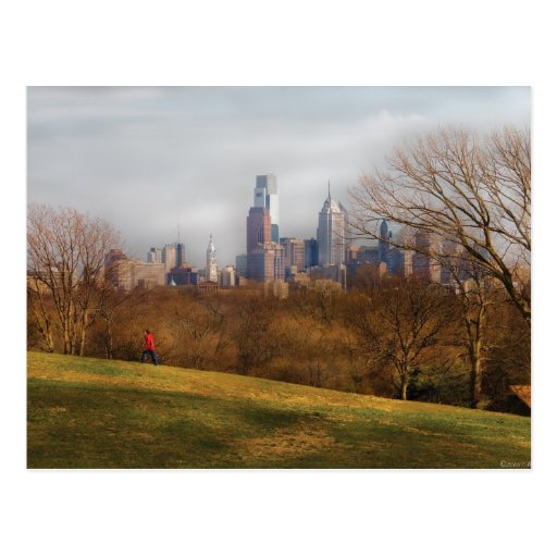 La ciudad de Philadelphia Tarjetas Postales