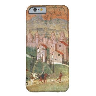 La ciudad de Prato (fresco) Funda Para iPhone 6 Barely There