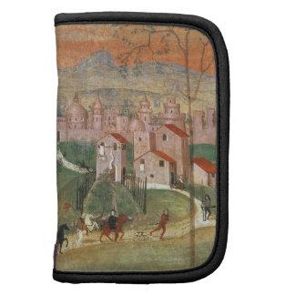 La ciudad de Prato (fresco) Organizador