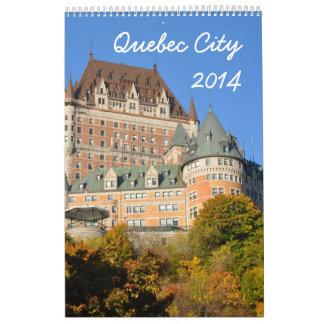 La ciudad de Quebec 2014 (1p) Calendario