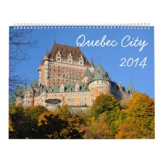 La ciudad de Quebec 2014 (2p) Calendario