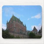 La ciudad de Quebec Alfombrillas De Raton