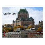 La ciudad de Quebec Postales