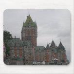 La ciudad de Quebec Tapetes De Ratón