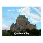 La ciudad de Quebec Tarjetas Postales