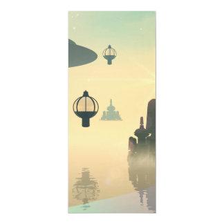 """La ciudad del futuro invitación 4"""" x 9.25"""""""