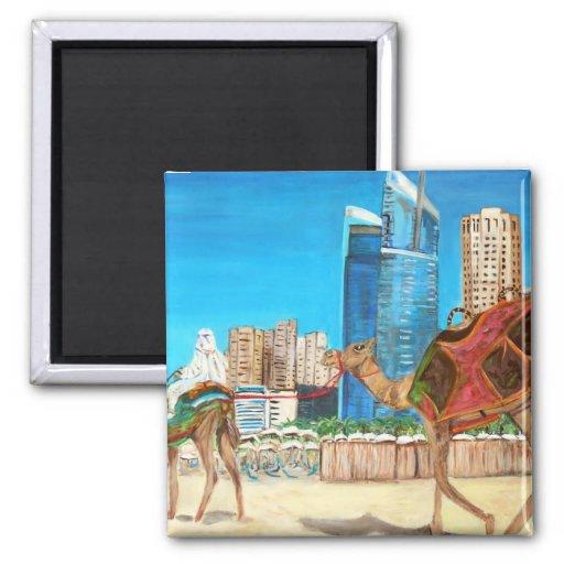 La ciudad del imán de Dubai