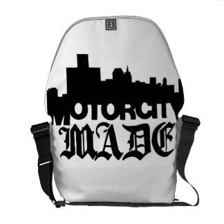 La ciudad del motor hizo la bolsa de mensajero bolsas de mensajeria