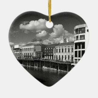 La ciudad del río Ouse de York compite riverscape Ornato