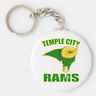 La ciudad del templo pega el llavero