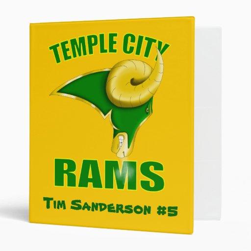 La ciudad del templo pega la carpeta