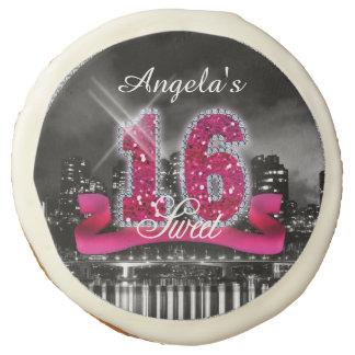 La ciudad enciende el dulce dieciséis ID117 rosado