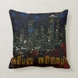 la ciudad enciende la almohada de MoJo del america