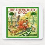 La ciudad esmeralda de la onza tapetes de ratón