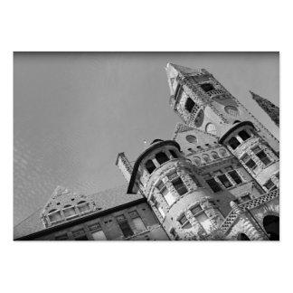La ciudad frecuentada viaja a tarjetas de visita
