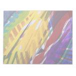 La ciudad II - corrientes abstractas del arco iris Libretas Para Notas
