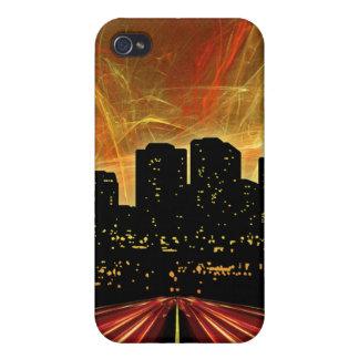 La ciudad iPhone 4 carcasa