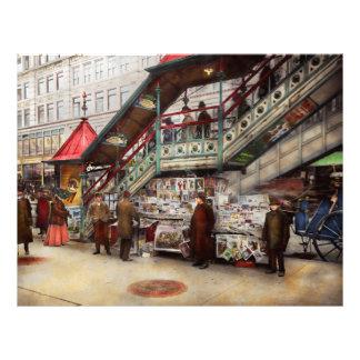 """La ciudad - NY - quiera a un señor de papel 1903 Folleto 8.5"""" X 11"""""""