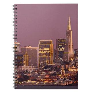 La ciudad por la bahía cuadernos