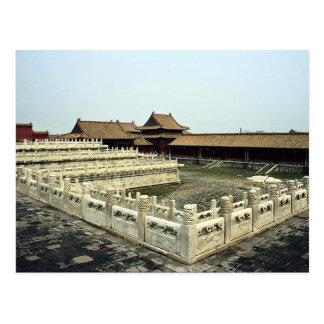 La ciudad Prohibida, Pekín, China Tarjetas Postales