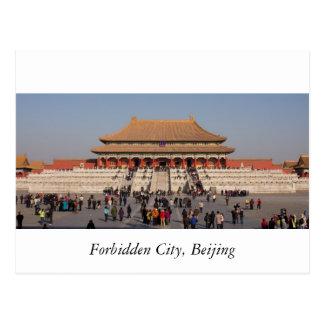 La ciudad Prohibida, Pekín Tarjeta Postal