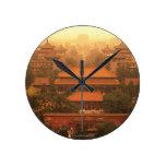 La ciudad Prohibida Reloj Redondo Mediano