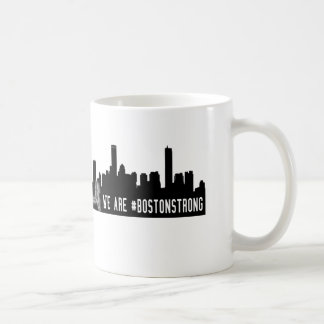 La ciudad somos #BostonStrong fuerte de Boston Taza