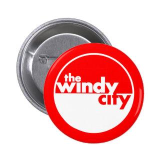 La ciudad ventosa pin redondo 5 cm