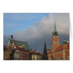 La ciudad vieja, Varsovia Felicitacion