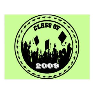 La clase de 2009/2010 elige sus colores de la tarjetas postales