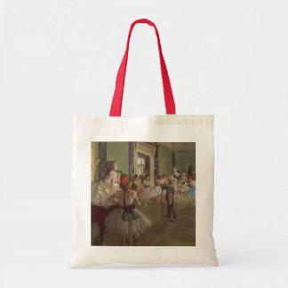 La clase de baile, c.1873-76 bolsa lienzo