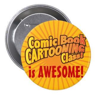 ¡La clase de Cartooning del cómic es IMPRESIONANTE Pins