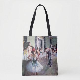 La clase de danza de Edgar Degas, arte del ballet Bolsa De Tela