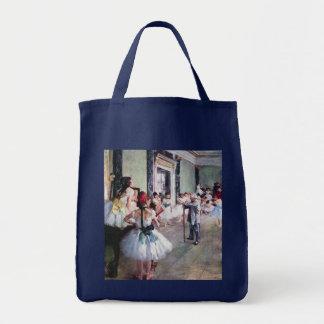 La clase de danza de Edgar Degas, arte del ballet Bolsa Tela Para La Compra