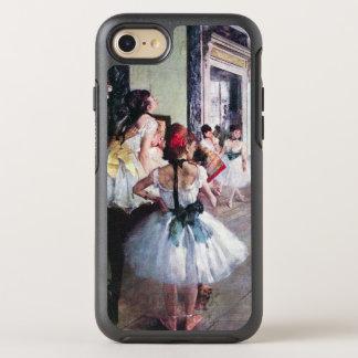 La clase de danza de Edgar Degas, arte del ballet Funda OtterBox Symmetry Para iPhone 7