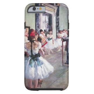 La clase de danza de Edgar Degas, arte del ballet Funda Resistente iPhone 6