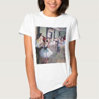 La clase de danza de Edgar Degas, arte del ballet Poleras