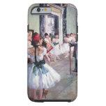 La clase de danza de Edgar Degas, ballet del Funda De iPhone 6 Tough