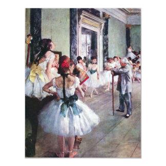 La clase de danza de Edgar Degas, ballet del Anuncio