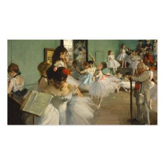 La clase de danza. Edgar Degas Tarjetas Personales
