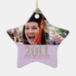 La clase de foto mayor de 2011 estrellas ornaments para arbol de navidad