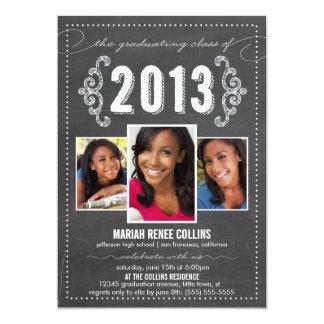 La clase de la foto 2013 de la graduación de la anuncio personalizado