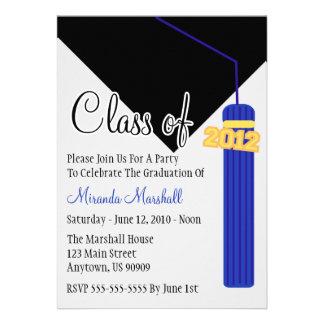 La clase de la graduación 2012 de la borla invita