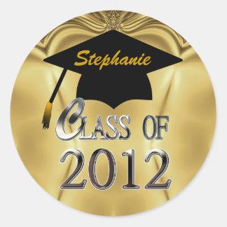 La clase de la graduación 2012 del oro sella a los