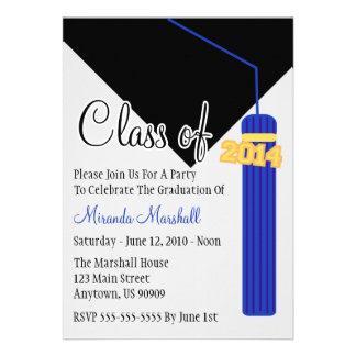 La clase de la graduación 2014 de la borla invita comunicados