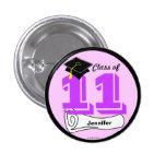 La clase de las graduaciones del botón 2011 añade  pin