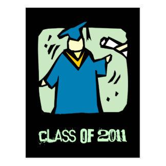 La clase graduada de la postal 2011 de la graduaci