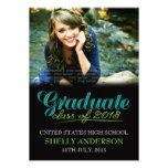 La clase graduada del verde azul moderno 2013 invi