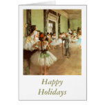 La Classe de Danse by Edgar Degas Cards